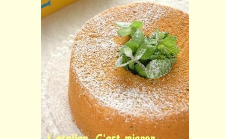 オレンジ(レモン)シフォンケーキ