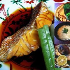 失敗しない煮魚。椎茸海老しんじょ・ほうれん草のお浸し・かきたま汁。