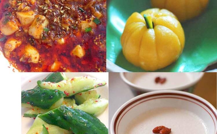 手作り調味料で作るマーボー豆腐とかぼちゃ団子