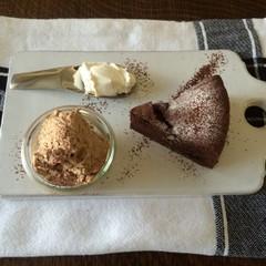 #バレンタイン:チョコレートの焼き菓子とデザート