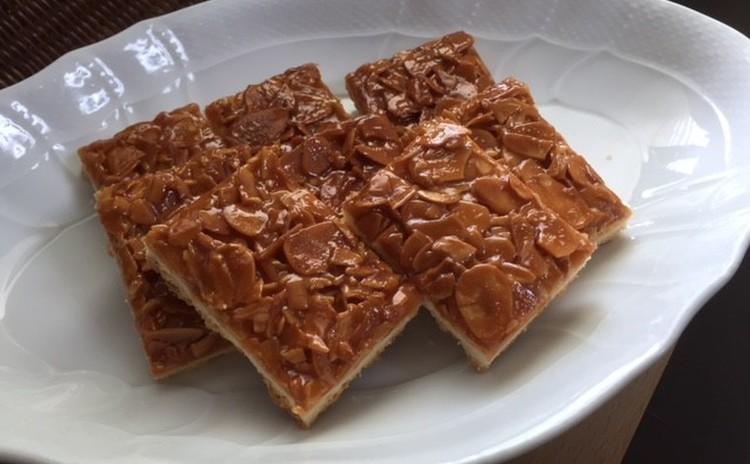 「フロランタン」アーモンドスたっぷりの香ばしい焼き菓子24㎝天板1枚