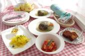 料理レッスン写真 - 雑穀・野菜たっぷり♡体に優しいヘルシーメニュー&みかんチョコケーキ♡