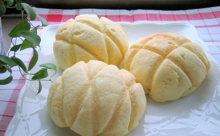 サクサク美味しいメロンパン&おまけパン《2種類のパンレッスン》