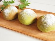 料理レッスン写真 - まるで和菓子♡宇治抹茶の米粉大福パン&宇治抹茶と小豆のマクロビマフィン