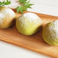 まるで和菓子♡宇治抹茶の米粉大福パン&宇治抹茶と小豆のマクロビマフィン