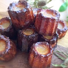 フランスの味!プチカヌレとぎっちり詰まったキウイのコンポート