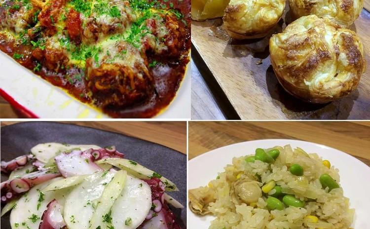 特別レッスン@Cookpad:たっぷり根菜とミートボールのデミグラタン