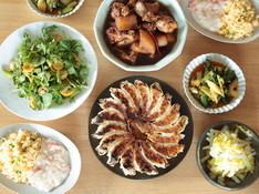 料理レッスン写真 - 冬の中華でおもてなし献立ー焼き餃子とあんかけチャーハンー