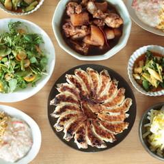 冬の中華でおもてなし献立ー焼き餃子とあんかけチャーハンー
