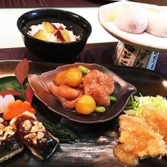 定番食材で松花堂弁当を作りましょう♪煮物&焼き物&揚げ物&和菓子