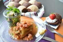 料理レッスン写真 - 100%ナチュラル★ロールキャベツ&塩ココナッツバターパン&ココアパン