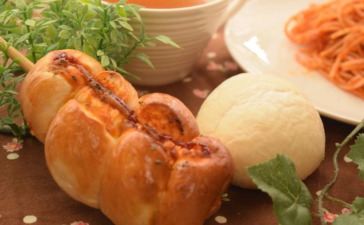 ♡国産小麦でふわふわモチモチ♡ ハイジの白パン&フランクロールパン♪