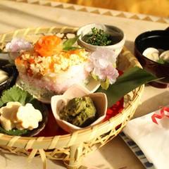ひな祭りの花籠膳~簡単小鉢料理で 見た目も愛らしいおもてなしの献立
