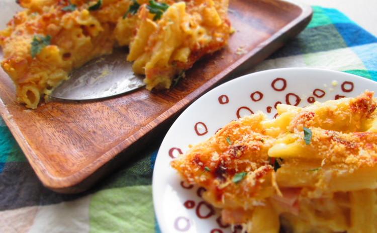 マクアンチーズパイ(Mac and cheese Pie)