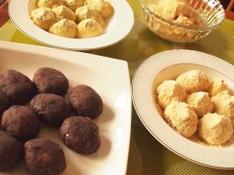 料理レッスン写真 - 和菓子の基本「粒あんを炊く」~おはぎ4種類(粒あん・きなこ・黒ゴマ)~