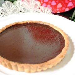 濃くのあるなめらかな「生チョコタルト」でバレンタイン♡ 16cm丸1台