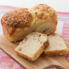 簡単くるみチーズ&濃厚コーヒーぶどうパン♡