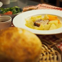 こねない天然酵母パンとほっこり温か洋風おでん【ポテ】で暖まろ♡