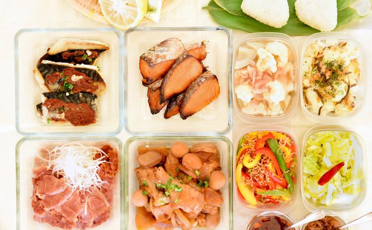 〜90分で10品和食の作り置き〜ふっくらご飯に合うおかずと万能調味料☆