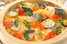 料理レッスン写真 - 誰もがうれしい春の蒸し寿司 お祝い事や家族が集まる時に