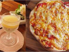 料理レッスン写真 - 自家製塩麹トマトソースで本格派ピッッア&林檎のパンナコッタ~林檎ソース