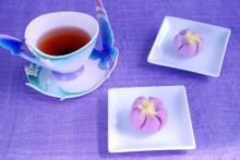 料理レッスン写真 - 超簡単 和菓子の練り切りで「スミレ」を作りますよ!