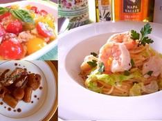 料理レッスン写真 - 春野菜たっぷり!キャベツの春色パスタや新玉ねぎのフレッシュサラダ