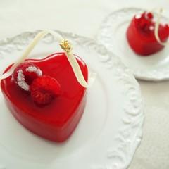 バレンタイン♪真っ赤なハートのスイーツ♡ランチ付き!
