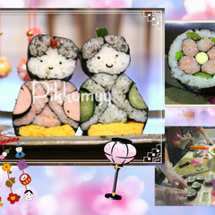 【K様リクエスト】可愛い&簡単❀おひなさま・小梅❀パーティ・お弁当に!