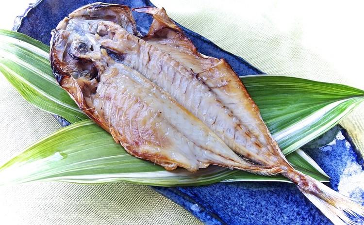 鯵の開き(焼き魚)