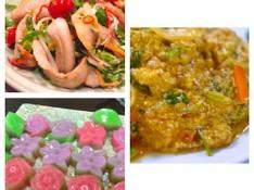 料理レッスン写真 - おもてなしタイ料理に挑戦 クンパッポンカリー(海老のカレー風味卵炒め)