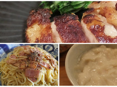 料理レッスン写真 - 塩麹に続く塩酒粕で♪鶏や魚に漬けるだけでなくカルボナーラや美容にも!