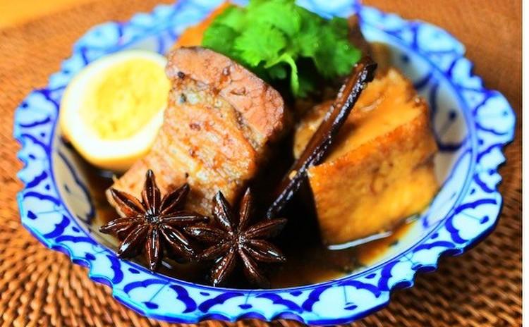 八角とシナモンでムーカイパロー&あさりのピリ辛 白いご飯にもお酒にも☆