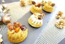 料理レッスン写真 - しっとり黒豆入りの抹茶のクグロフ、プレゼントにもぴったりな可愛さです