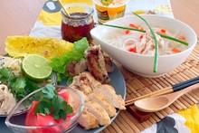 料理レッスン写真 - 女子必見簡単なのに本格的☆味変できるチキフォーのアジアンプレート全7品