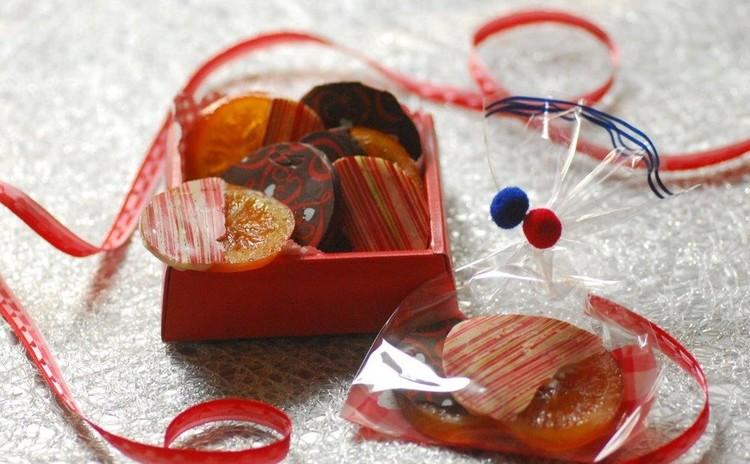 オレンジ煮から作るオランジェット