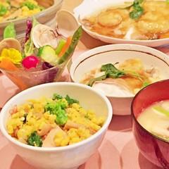女子度アップの春和食!桜鯛かぶら蒸しに、菜の花筍ご飯、春野菜カクテル♪