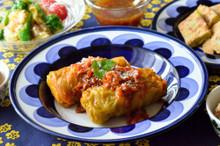 料理レッスン写真 - 特製ロールキャベツ&トマトソースとアレンジ2品♪自家製ドレッシングも♪
