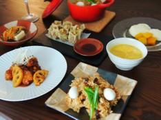 料理レッスン写真 - 春だから本気で作る!もっちり中華おこわと大人の酢豚、本格杏仁豆腐
