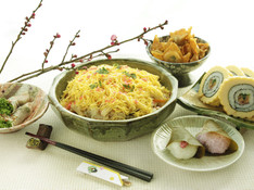 """料理レッスン写真 - 日常品で作る""""普段のちらし寿司""""で節目を飾る。春を祝う香りの献立!"""