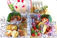 料理レッスン写真 - 【お弁当はまかせてよ♥】行楽シーズンにワイワイ食べたい洋風惣菜全7品♪