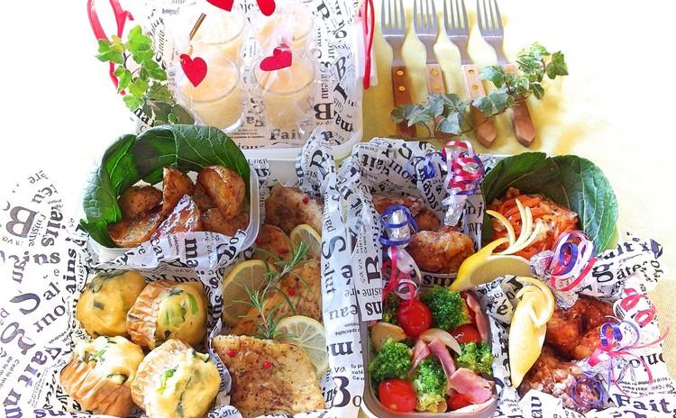 【お弁当はまかせてよ♥】行楽シーズンにワイワイ食べたい洋風惣菜全7品♪