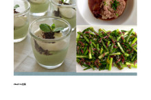 料理レッスン写真 - 野菜ソースたっぷりポークポットローストと、春野菜とアンチョヴィのサラダ