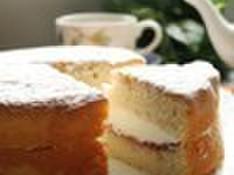 料理レッスン写真 - 「ヴィクトリアケーキ」と紅茶でくつろぎのティータイム(15cm丸1台)