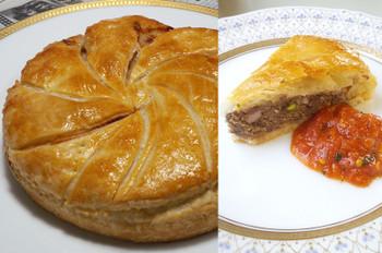 料理レッスン写真 - 【プロ直伝】新発見!いのしし肉のミートパイとオニグラスープ