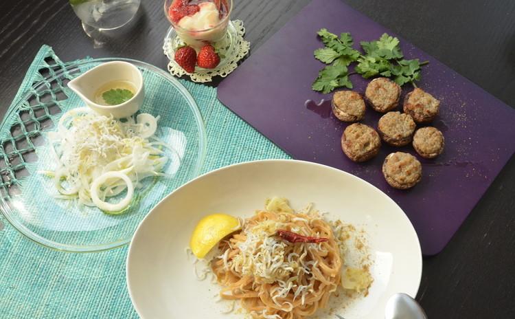 旬の産直食材を使ったグルテンフリー&日本の調味料で作る新感覚イタリアン