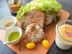 料理レッスン写真 - 最旬のフードトレンド★北アフリカ生まれのデュカ&鮮やかなグリーンオイル