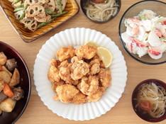 料理レッスン写真 - 唐揚げ 和食ちょいおもてなし献立