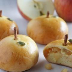 りんごのコンポートとカスタード♡『りんごパン』レッスン♪