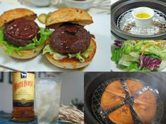 料理レッスン写真 - 【燻製実習!】オリーブオイルとチーズ【燻製デモ】ミニハンバーガー2種
